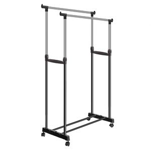 2 Tier Collapsible Clothing Rack